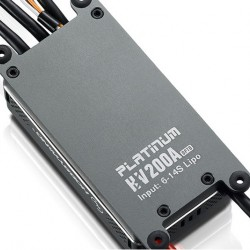 Hobbywing Platinum 200A OPTO V4 ESC for 700-800 class RC Helicopter and Giant Scale fixed-wing RC Plane