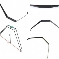 Landing Gear for EXTRA260 200CC RC Airplane