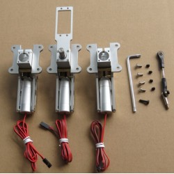 JP Hobby Alloy Electric Retracts Set of 3 Retracts with Module for 12-17KG Turbo Model