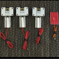 JP Hobby Alloy Electric Retracts Set of 3 Retracts with Module, 5mm,10mm, 12mm