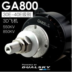 Dualsky GA800 Motor V2 850KV and 550KV for Giant Scale RC Airplane