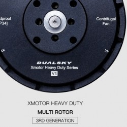 Dualsky XM7015HD-11 High Voltage 3rd Generation Multicopter Motor