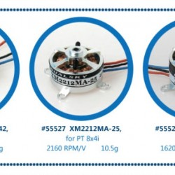 Dualsky XM1812MA-42 Micro Series Brushless Outrunners Motor