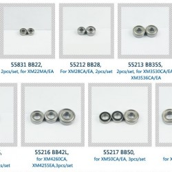 Dualsky Ball Bearing Replacement BB63, BB50, BB35L, BB42L for EA CA Xmotors