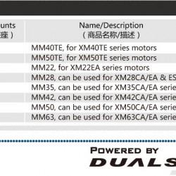 Dualsky Motor Mount for Dualsky TE/CA/EA Series Motors