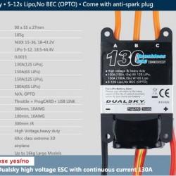 Dualsky XC13036HV ESC
