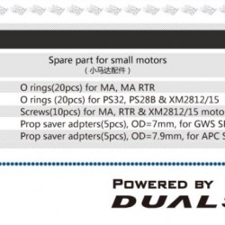 Dualsky XM2212MA-25 Micro Series Brushless Outrunners Motor x2