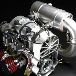 DLE-430 Two-Cylinder 2-Stroke Paramotor Engine