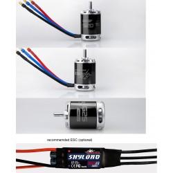 2x Tomcat G25 3527-KV1140 Brushless Motor 25 glow