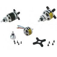 2x Dualsky ECO 2216C 1460KV and 1250KV Motor for RC Airplane