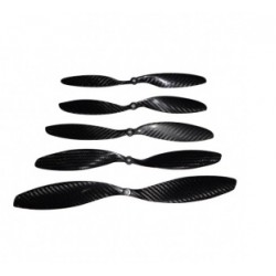 Carbon Fibre  13*4 Clockwise and Counter clockwise Propeller For Multicopter