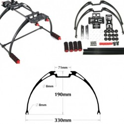 Landing Gear for FPV Aerial Photography for Multicopter