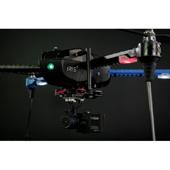 3DR Iris+ RTF with T-2D Gimbal + Extra battery + Extra Propeller Set