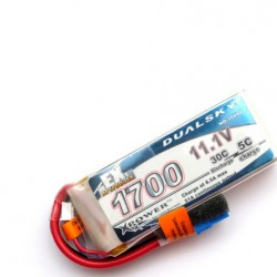 DUALSKY XP17003EX Lipo Battery x2