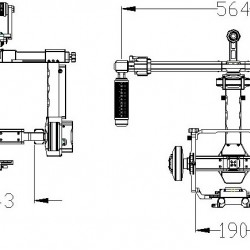 DYS FUNN 3-Axis Gimbal for Red Epic, Sony, Canon, Nikon