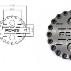 3k Carbon Fibre Shock Absorbing Plate A20