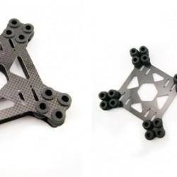 3K Carbon Fiber Shock Absorbing Plate A16