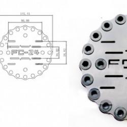Fibreglass Shock Absorbing Plate A24