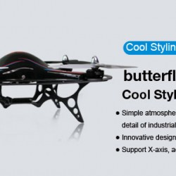 SKYARTEC Butterfly 6-axis (without TX and RX)