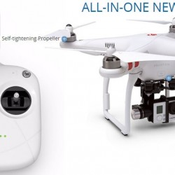 DJI Phantom 2 + ZENMUSE H4-3D Gimbal Version 3.0