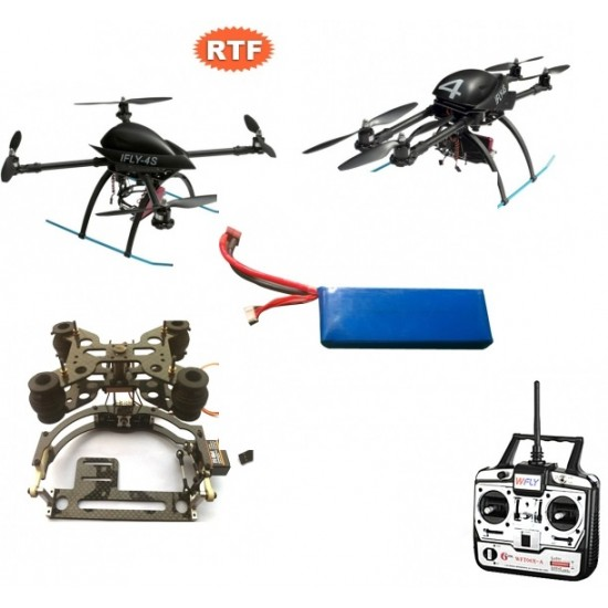 IDEA-FLY IFLY-4S Quadcopter/Four-axle Flyer RTF