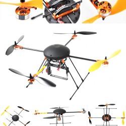 LOTUSRC T580P Quadcopter AP/AV based ARTF - DIY