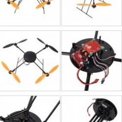 LOTUSRC T580P (with GPS)Quadcopter(Folding design) -GPS Edition