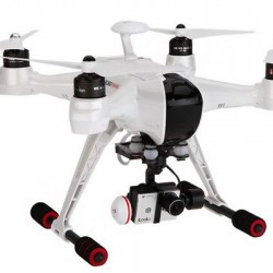 Walkera QR X350 Drone RTF Premium with DEVO-F12E radio/G-3D gimbal/Gopro wires/5.8Ghz video transmiter/battery/charger/GCS device included