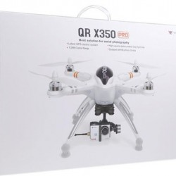 Walkera QR X350 Pro Quadcopter including DEVO-F7 radio, G-2D gimbal, Gopro wires, ilook camera, 5.8Ghz video transmiter, charger