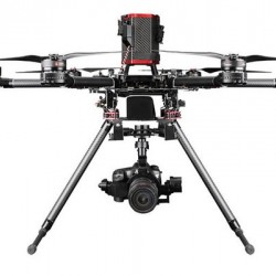 Walkera QR X900 FPV Hexacopter and Quadcopter RTF with DEVO-F12E, G-3S gimbal, Dropsafer, Battery, Charger