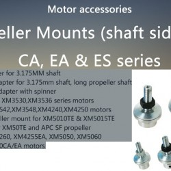 Dualsky Prop Mounts shaft side for CA, EA & ES series