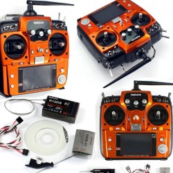 Radiolink AT10 II Radio Transmitter 2.4G 10ch with R12DS Receiver