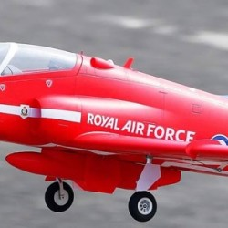 FMS Bae Hawk Red 80mm Model EDF with servos, motor, ESC