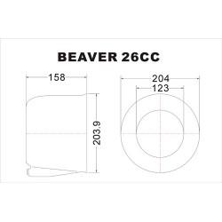 Beaver 86.6'' RC Plane