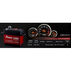 Power HD BLS-0904HV 9kg 7.4V Brushless Digital Servo