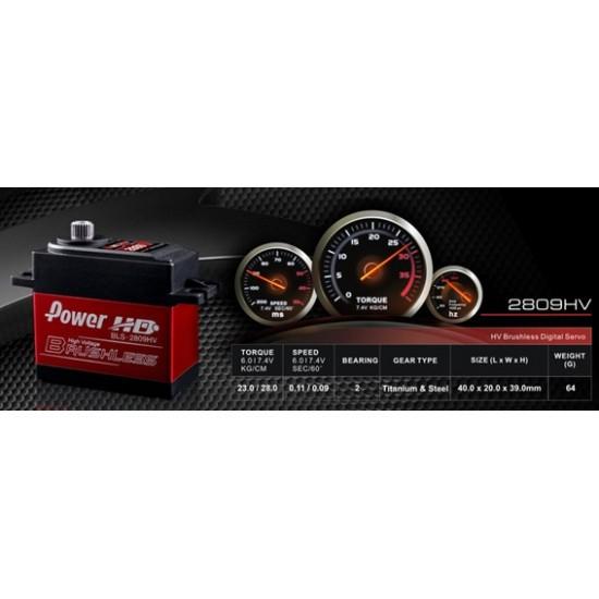 Power HD BLS-2809HV Servo 28kg 7.4V Brushless Digital Servo