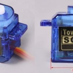 Tower Pro SG50 Analog Micro Servo x3