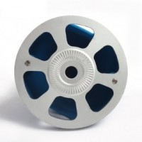 1.75in Plastic Spinner with Alu Alloy Plate (Pair)