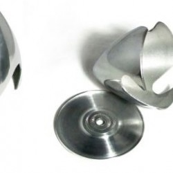 2.75in / 70mm Aluminium Spinner for 3-blade Prop
