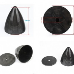 2.75in / 70 mm Spinner for RC plane