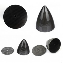6 inch / 152.4mm Carbon Fibre Spinner for RC plane